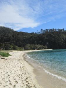 Voorbeeld van een mooi strand