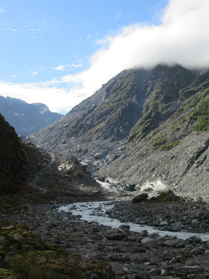 Fox glacier & Lake Matheson